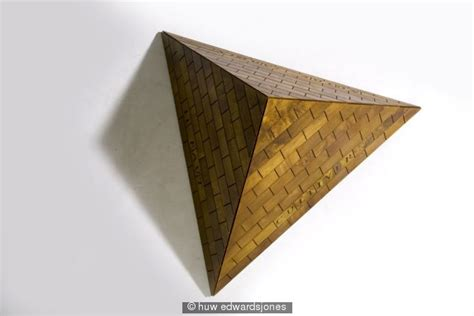 How To Make A Three Sided Pyramid Out Of Paper - pyramid cabinet mulberry wood walnut