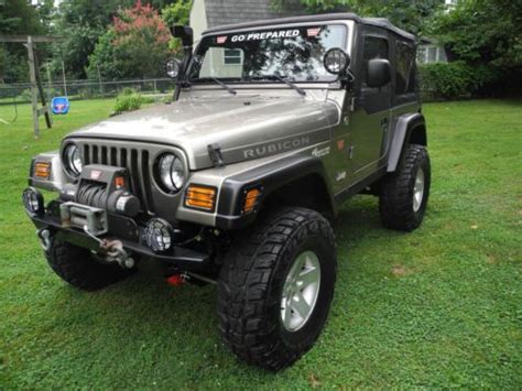 2004 Jeep Rubicon Mpg Find Used 2004 Jeep Wrangler Rubicon Sport Utility 2 Door