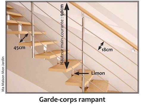 hauteur d une re d escalier 3237 hauteur balustrade hauteur balustrade with hauteur