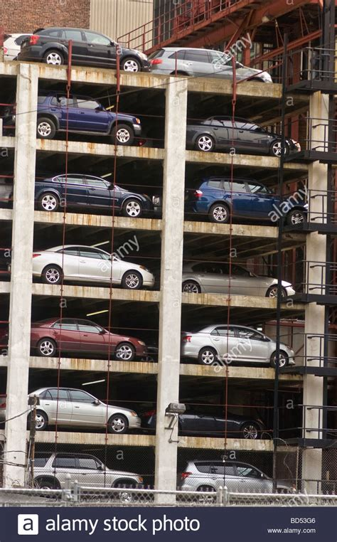 multi storey car park parking garage parking structure