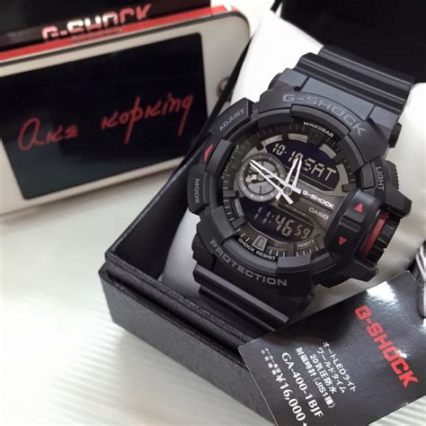 Casio Gshock Ga400 Redgrey live photos g shock ga 400 series