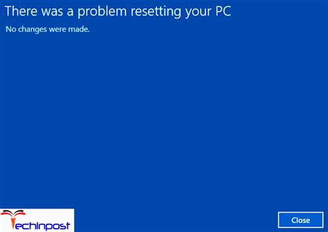 hp resetting your pc 1 fixed there was a problem resetting your pc windows