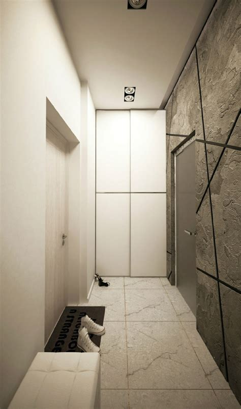 flur gestalten stein 1 zimmer wohnung einrichten 13 apartments als inspiration