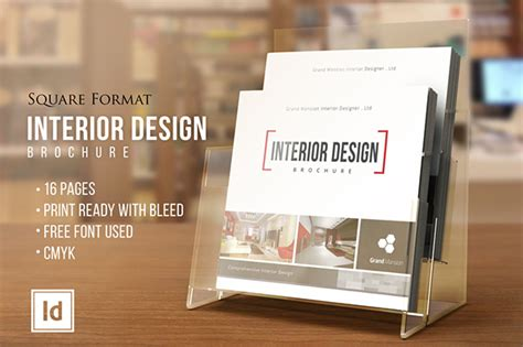 interior design brochure catalog square version on behance