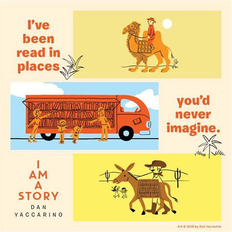 story i i am a story dan yaccarino 9780062411068 amazon com books