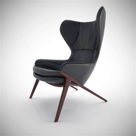 How To Create Interior In 3ds Max 3d Cassina P22 Chair Furniture