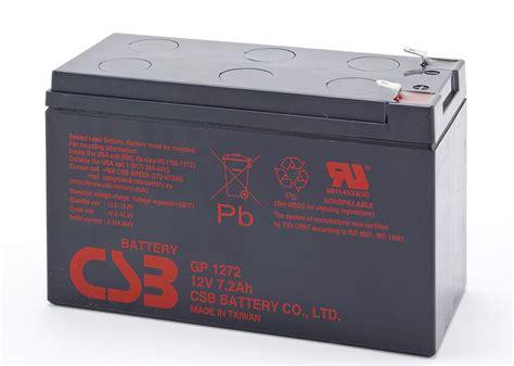 Battery Aki Ups Csb 12v 7 2ah Murah csb gp1272 12v 7 2ah nationwide power