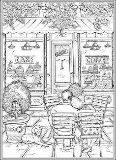 page    country charm  creative haven coloring book