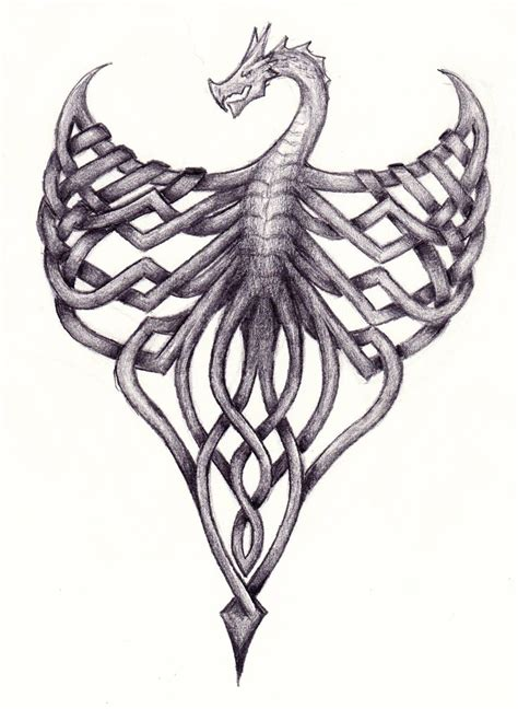 celtic dragon tattoo design 1000 ideas about celtic tattoos on