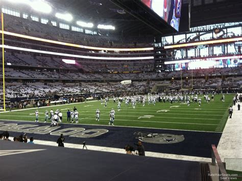 Section 12 A 2 by At T Stadium Section 121 Dallas Cowboys Rateyourseats