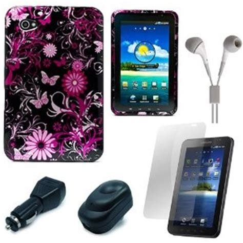 Anti Gores Samsung Tab 7inch P1000 Anti Glare Anti Minyak Screen Prote Pink Butterfly Design Protective Durable