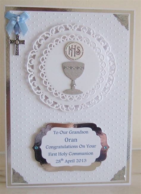 Handmade Communion Cards - 121 best images about christening invites cards on