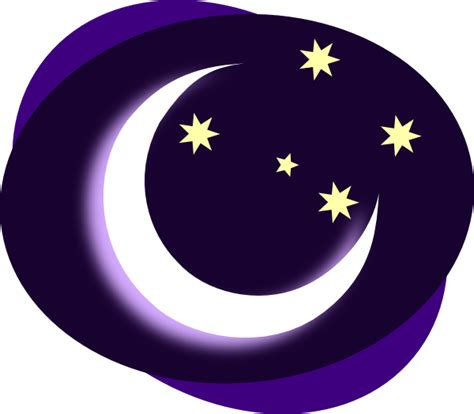 Moon Clipart by Purple Moon Clip At Clker Vector Clip