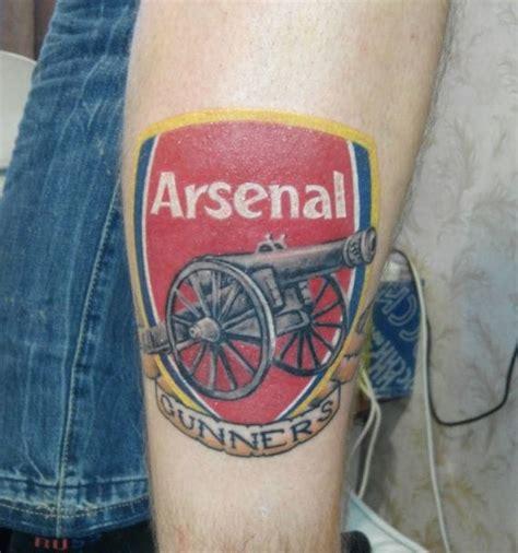 arsenal tattoo designs 11 premier league tattoos tattoodo