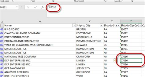 excel format zip code solved re zip codes that start with 0 0 is not displayi