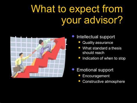 thesis advisor or adviser bad dissertation advisors