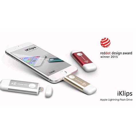 Iklips Duo Apple Lightning Flash Drive 32gb Adam adam elements iklips apple lightning flash drive 32gb