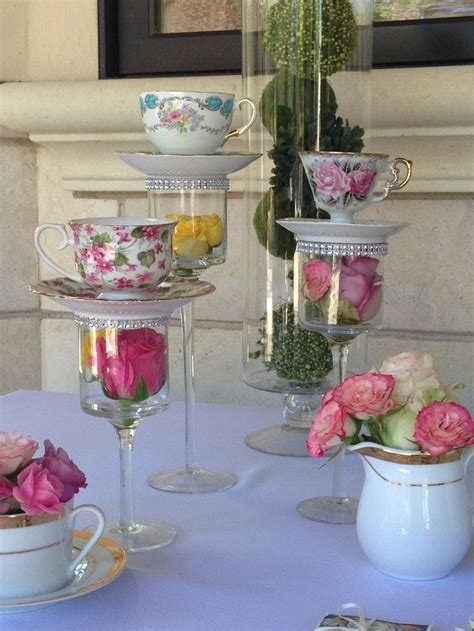 Tea Cup Decorations by 25 Best Ideas About Tea Table On