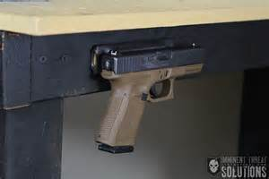 DIY Inexpensive Gun Magnet Mount: Conceal Your Firearm Within Arm's Reach   ITS Tactical