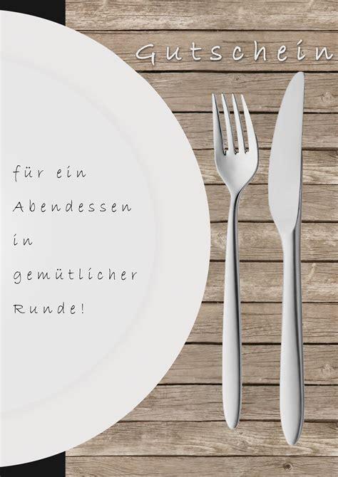 Word Vorlage Gutschein Essen 365 Days 05 12 2010