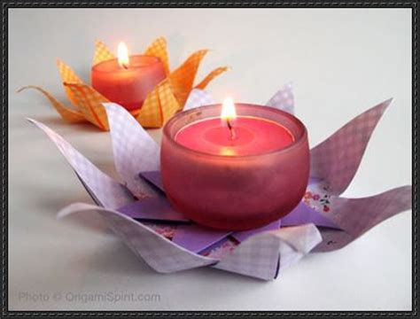 How To Make A Paper Candle Holder - papercraftsquare new paper craft how to make a