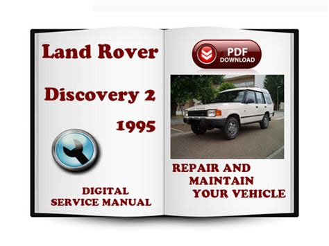 service and repair manuals 1995 land rover discovery lane departure warning land rover discovery 2 1995 service repair manual download manual
