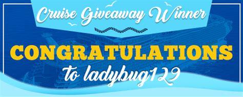 Cruise Giveaways - bingospirit play bingo online 500 percent bonus on 1st deposit