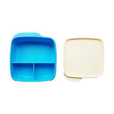 Tupperware Kotak Makan jual tupperware lolly tup kotak makan biru