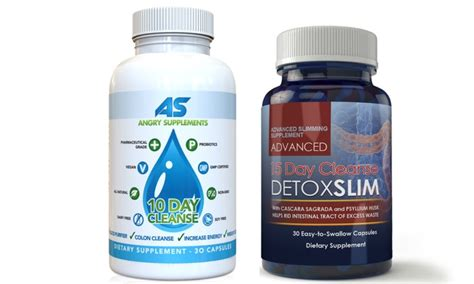 10 Day Detox Supplements List by 10 Day Cleanse And 15 Day Cleanse Dietary Supplements 2