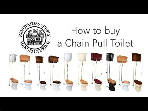 Vintage Bathroom Accessories Pull Chain Toilet High Tank Toilet Renovator S Supply