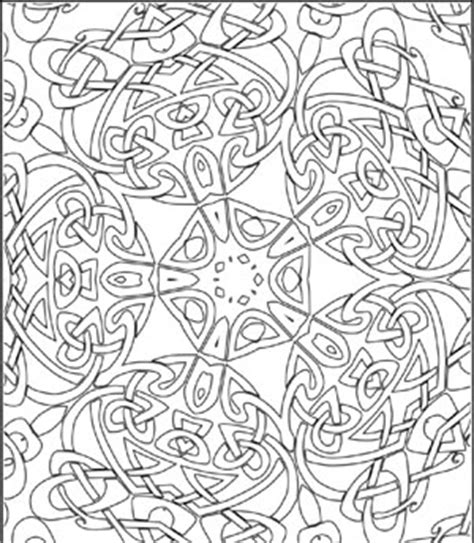 complex coloring page designs printable design coloring pages for adults and older kids