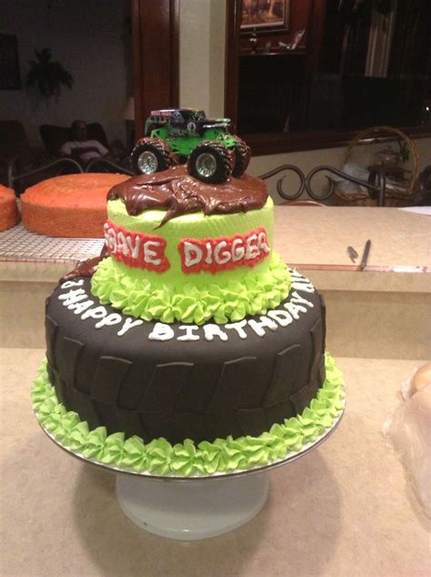grave digger truck cake best 25 truck cupcakes ideas on