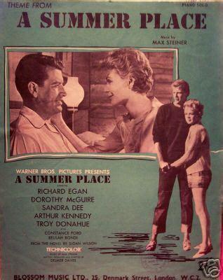 A Place Song A Summer Place Sheet A Summer Place Fan 960713 Fanpop
