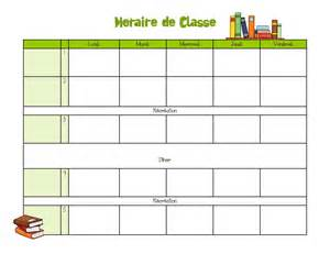 Cing Menu Planner Template by Horaire Ecole Calendar Template 2016