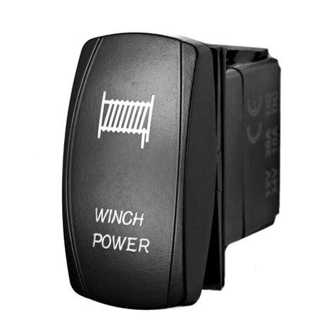 winch power laser rocker switch stv motorsports