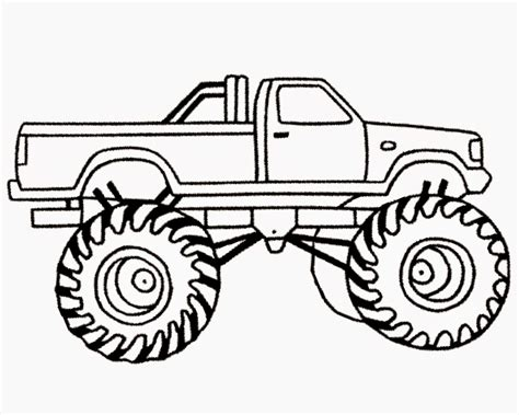 mud truck coloring pages coloring pages