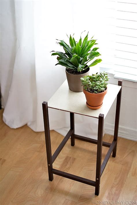 refresh  space   diy plant stand  planter
