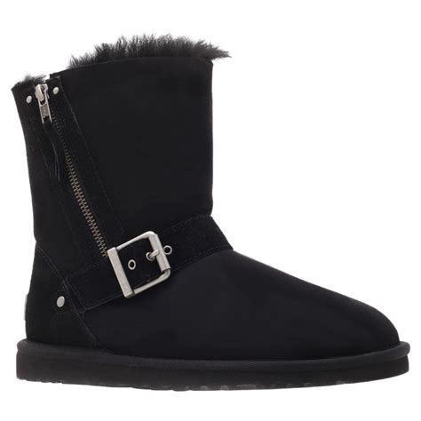 ugg boots for black ugg blaise boots in black lyst