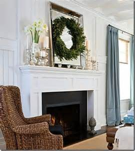 Pottery Barn Easter Decorations White Fireplace Mantel Black Tile Home Ideas