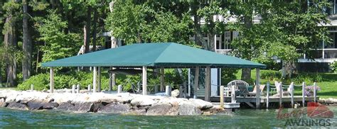 deck boat canopy image awnings nh custom awnings new hshire canopies