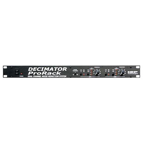 Isp Rack Decimator by Isp Decimator Pro Rack 171 Helper