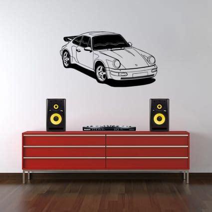 Porsche Aufkleber by Porsche 911 Sticker 4 Stickythings Nl