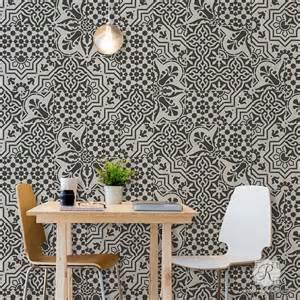 tile stencils for walls floors and diy kitchen decor royal design stencil designs modern
