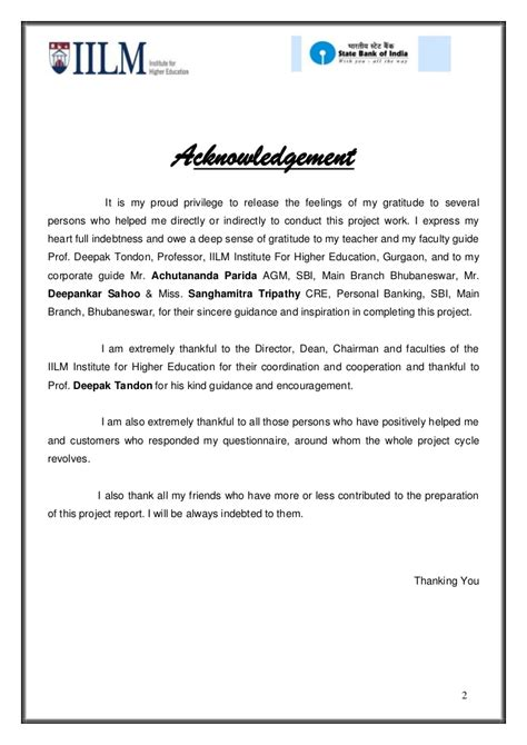 Kyc Acknowledgement Letter Axis Bank 17689260 Summer Project On Sbi