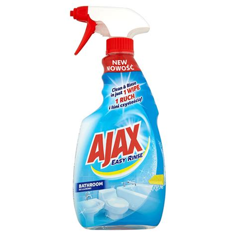 ajax bathroom gel ajax easy rinse bathroom cleaner 500ml online shop