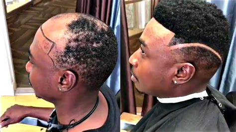 man weave fade man weave transformations cut by dillon s image afro