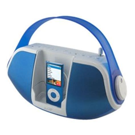 ilive blue under music system ilive ib109bu blue portable music stereo system with ipod
