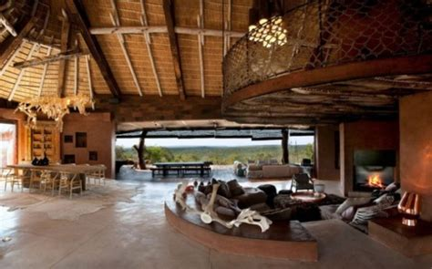 luxury south african villa  cave  interiors digsdigs