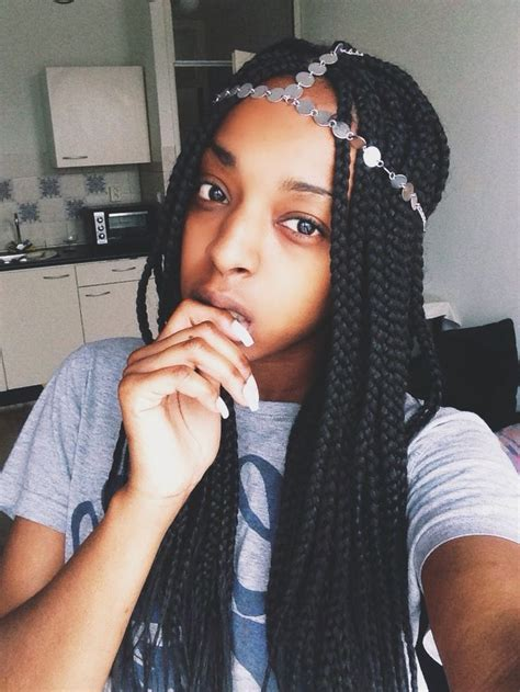 box braids with fade inspiration for my hair aka box 59 best images about box braids marley twist on pinterest