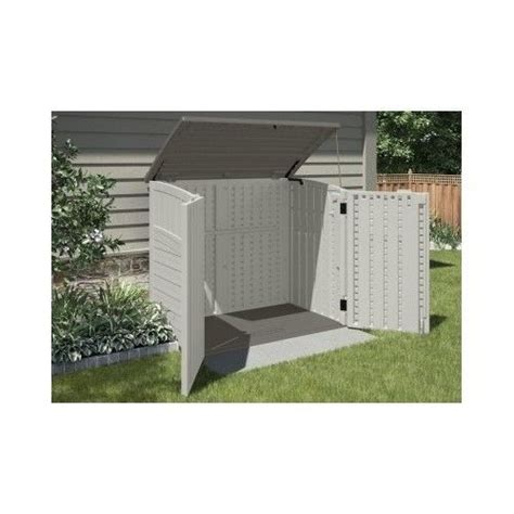 outdoor trash can storage cabinet outdoor storage shed bike garbage can toys pool tools